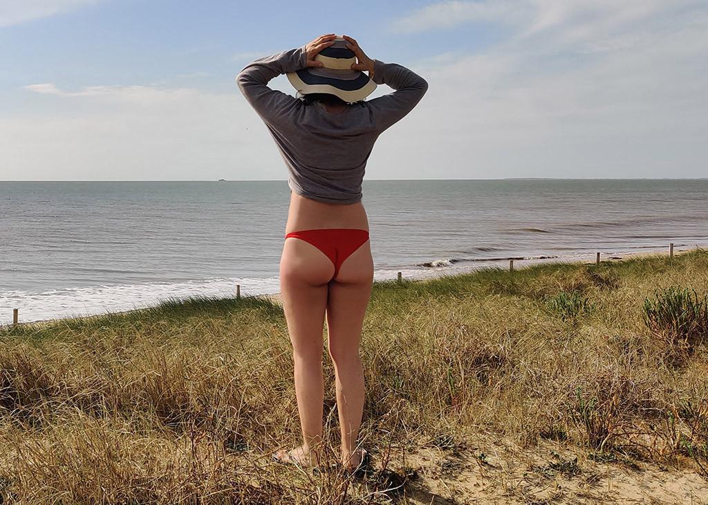 Pamina a la plage